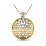 Twinkling Diamond Star Pendant