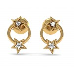 Multistar Diamond Earring