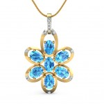 Blooming Flower Pendant