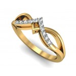 Diamond Line Ring