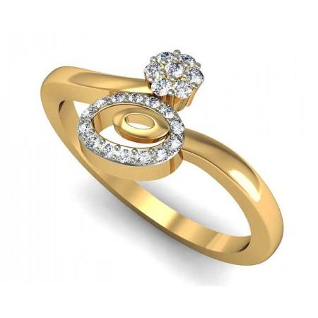 Circular Diamond Ring