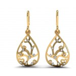 Bella Drop Diamond Earring