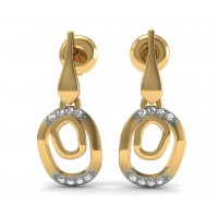 Elisha Diamond Earring