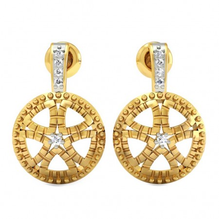 Chakra Diamond Earring
