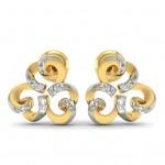 Trendy Diamond Studs