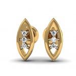 Marquise Diamond Stud