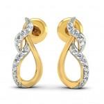 Safia Flame Diamond Studs