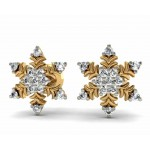 Snowflake Diamond Stud