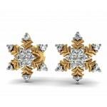 Snowflake Diamond Stud