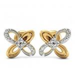 Double Milgrain Ribbon Earring