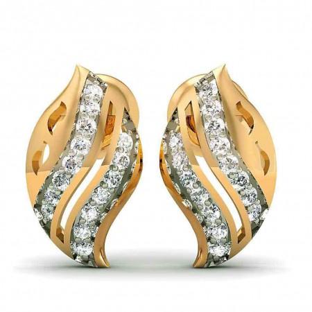 BonnyLeaf Diamond Studs