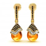 Golden Drop Earring