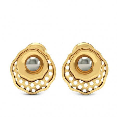Bewitching Gold Studs