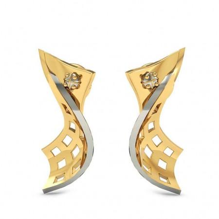 Artistic Curved Earrings