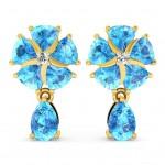Princess Sparkle Drop Earrings