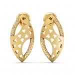 Lattice pierced Earrings