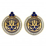 Jashan-E-Bhara Enamel Earring