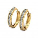 The Rageswari Diamond Hoops