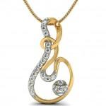 Shapeless Diamond Pendant