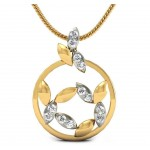Modish Diamond Pendant