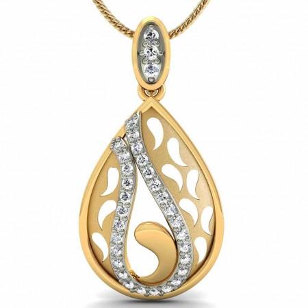 Ava Diamond drop Pendant