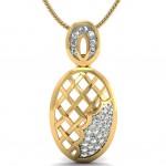 Diamond Pineapple Pendant