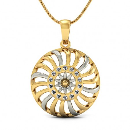 Arjun Chakra Gold Pendant