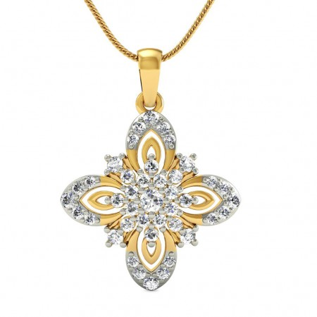 Alyssum Diamond Pendant