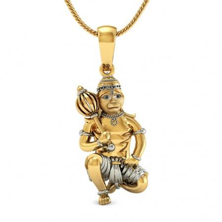 Bajarangi Gold Pendant