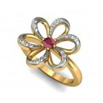 Stunning petal ring