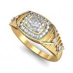 Elegant V Ring