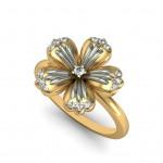 Precious Flower Ring