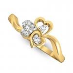 Heart Trio Ring