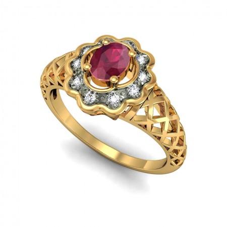 Lovely Crisscross ring