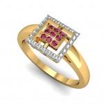 Square Design ring
