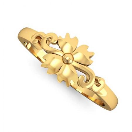 Cherry Blossom Gold Ring