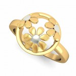 Hollow Flower Ring