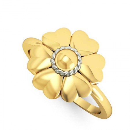 Anemone Posy Ring