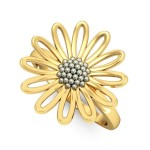 Daisy Floral Ring