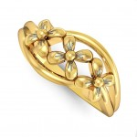 Tri Flower Ring