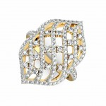 Diamond Swirl Ring