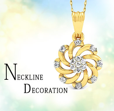 Neckline Decoration